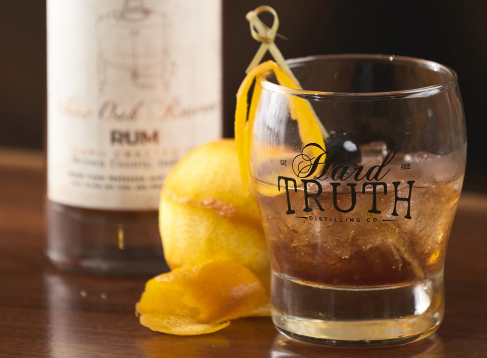 Aged Rum Old Fashioned