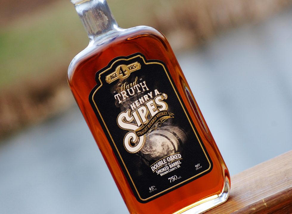 Sipes' Barrel Smoked Straight Bourbon Whiskey